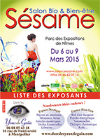 esp-presse catalogue-exposants sesame-2015